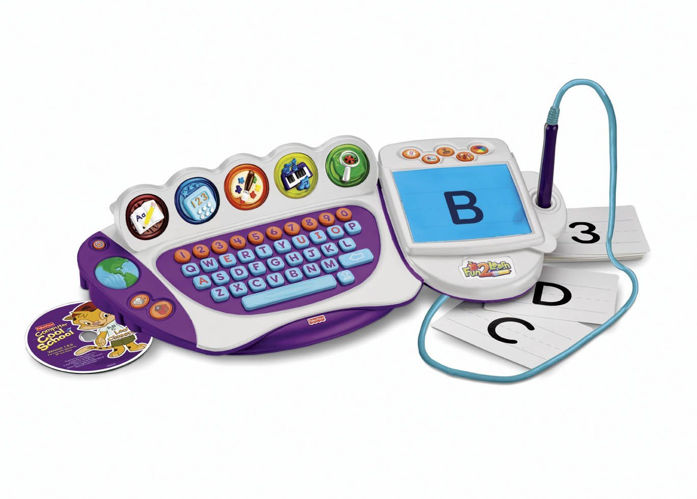 Fisher price fun 2 learn computer cool school chothuedochoi org