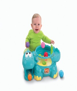 Fisher-Price Go Baby Go! Poppity Pop Muscial Dino
