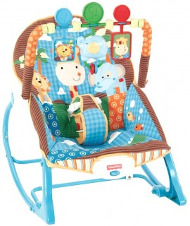 Fisher-Price Infant-To-Toddler Rocker Jungle Fun