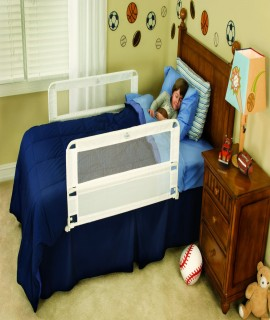 Regalo Hide Away Double Sided Bed Rail - White