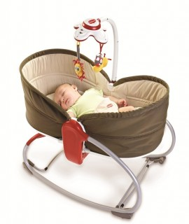 Tiny Love 3 in 1 Rocker Napper, Brown