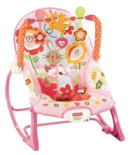 Fisher-Price Infant-To-Toddler Rocker Bunny