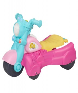 Playskool Rocktivity Walk N Roll Rider, Pink
