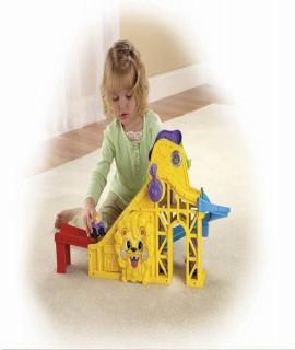 Fisher-Price Little People Wheelies Roller Coaster Playset