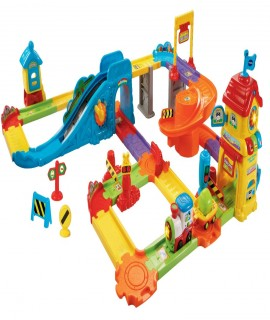 VTech Go! Go! Smart Wheels- Train Station Playset