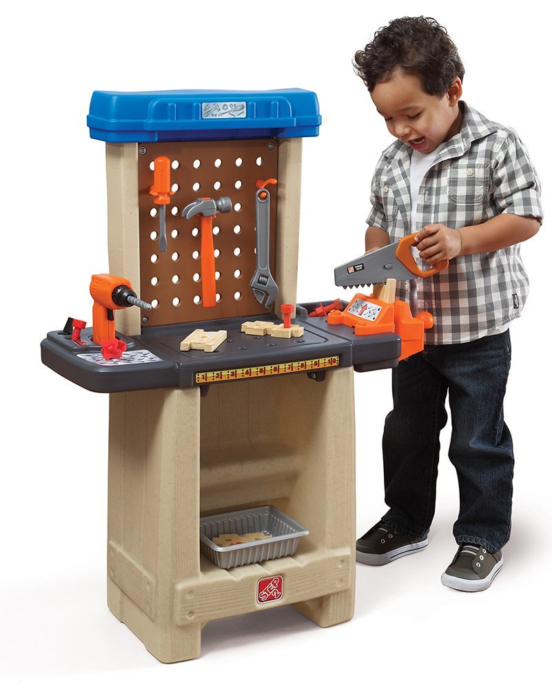 The Step2 Company Handy Helpers Workbench Building Set