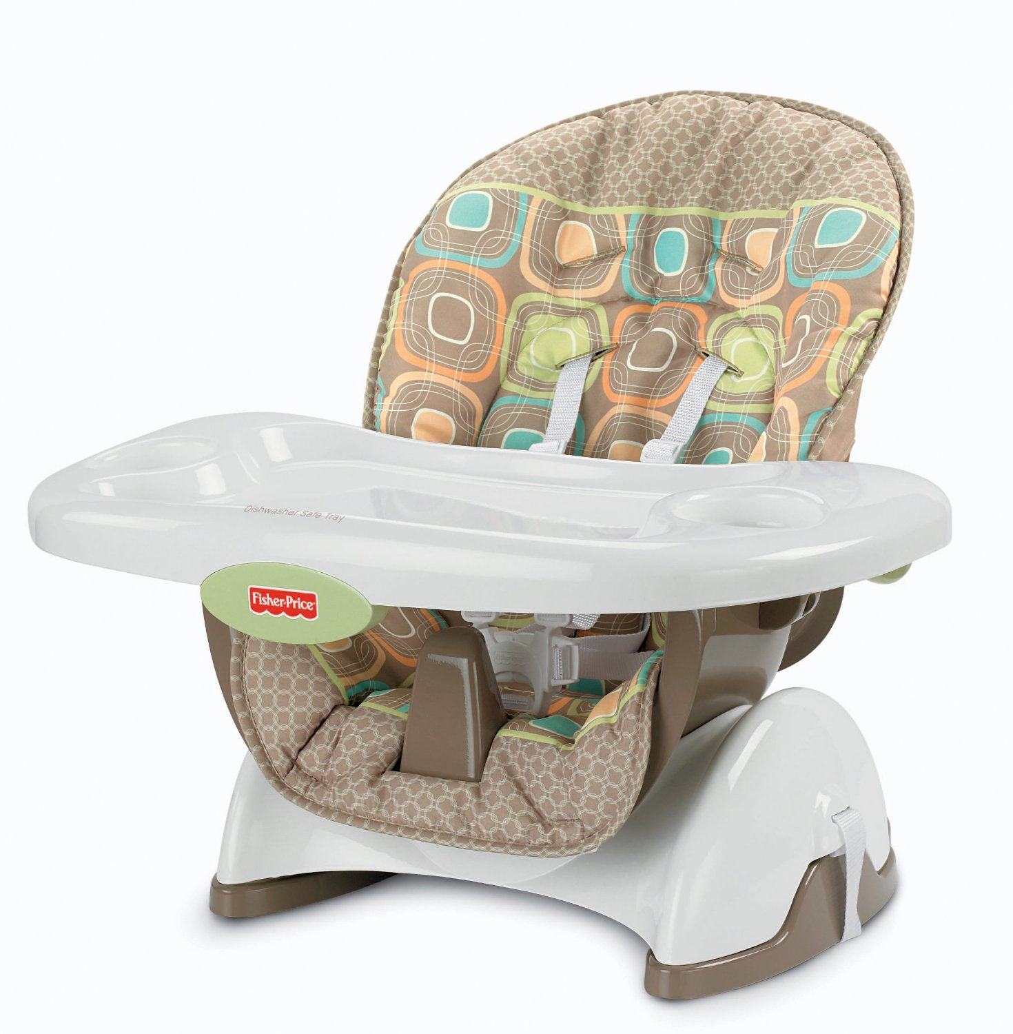 Fisher Price Space Saver High Chair Màu Coco Sorbet
