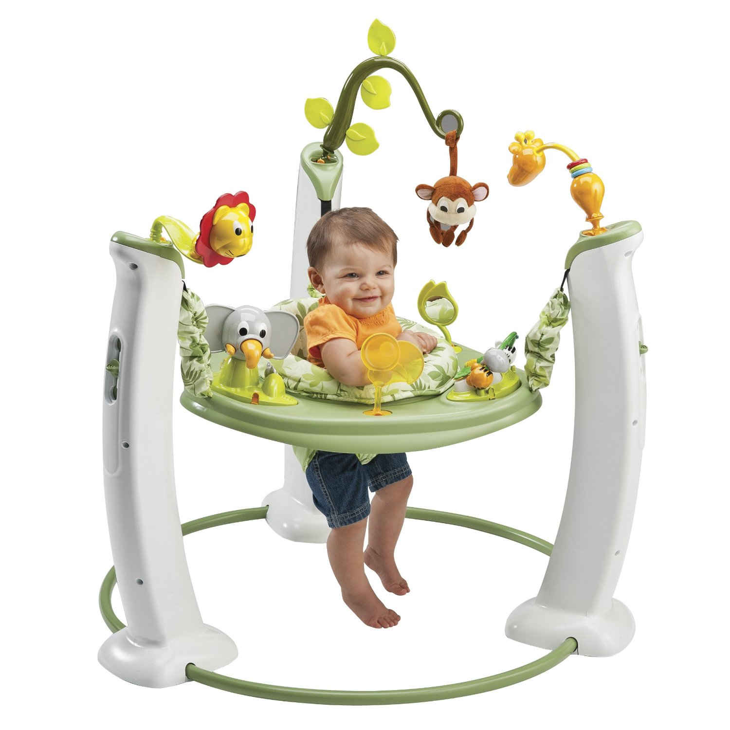 Evenflo ExerSaucer Jump & Learn Safari Friends