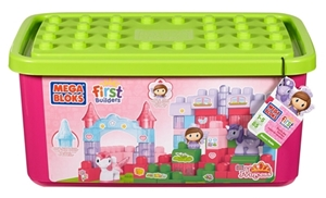 Mega Bloks First Builders Lil Princess Unicorn Stable