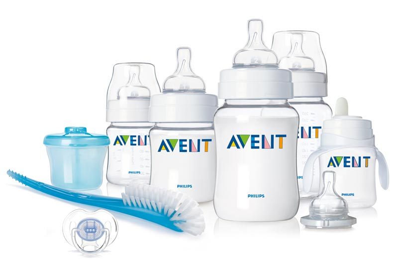 Philips AVENT BPA Free Classic Infant Starter Gift set