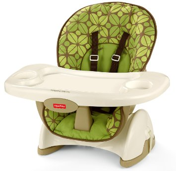 Fisher Price Space Saver High Chair Màu Rainforest Friends