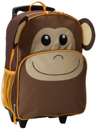 Trailmaker Boys 8-20 Monkey Rolling Backpack