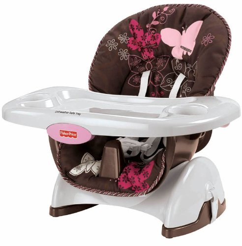Fisher Price Space Saver High Chair Màu Mocha Butterfly